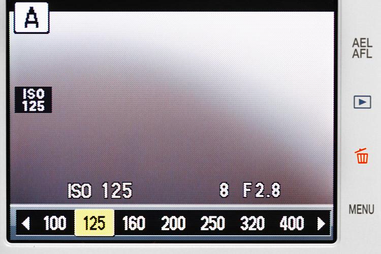 רגישות ISO