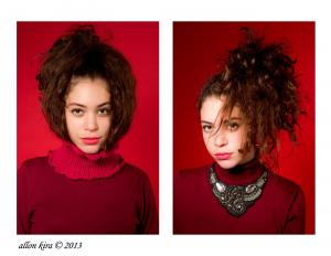 צילומי סטודיו, מודל בסטודיו, אלון קירה בית ספר לצילום